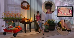 Fall Nights (Catherine Inaka) Tags: hair buzz style avatars glam designs kelli affair jk dollhouse blackrose maitreya slink izzies kreations greymoon tameless kaerri irries