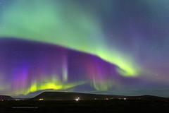 """The Northern Lights"" Iceland (Pepelahuerta) Tags: waterfall iceland islandia otoño atardeceres auroraborealis canon6d pepelahuerta ultrangulares godaffos"
