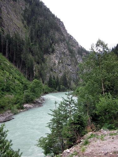 Río Inn, frontera austro-suiza