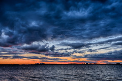 Sunset Over Boston (NikonJim) Tags: sunset boston clouds d750 hdr nahant 7exp nikonjim