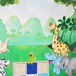 """Hand Painted Mural <a style=""""margin-left:10px; font-size:0.8em;"""" href=""""http://www.flickr.com/photos/137232100@N03/22096339573/"""" target=""""_blank"""">@flickr</a>"""