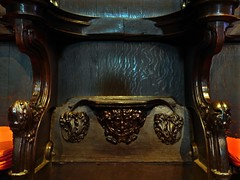 Lincoln, Lincolnshire (Oxfordshire Churches) Tags: uk england cathedral unitedkingdom churches lincolnshire panasonic lincoln carvings anglican greenman cofe churchofengland mft minsters misericords micro43 microfourthirds lumixgh3 johnward