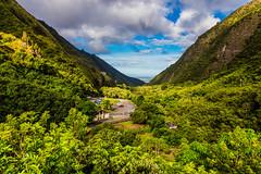 Iao Needle, Maui - 32 (www.bazpics.com) Tags: green heritage wet grass rain rock forest hawaii us moss rainforest unitedstates maui formation needle iao hawaiian hi climate moisture humidity humid wailuku