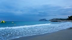 El fin del verano (monsalo) Tags: mar mediterraneo playa moraira ifach monsalo