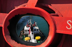 Towing boat... (Gunnar Eide) Tags: ocean sea yard boat dock ship transport maritime shipping tanker towing tankers odfjell