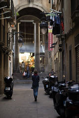 Street of Barcelona (grzegorz_wdowiak) Tags: barcelona street autumn fall europe bcn streetphotography catalonia catalunya oldtown catalan ciutatvella 2015 sonya6000