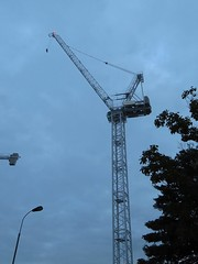 Riverside Studios crane