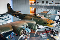 """My Gal Sal"" at the World War II Museum in New Orleans (Paul Katcher) Tags: history plane military b17 worldwarii worldwariimuseum mygalsal"