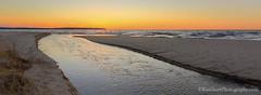 Otter Creek ... sunset (Ken Scott) Tags: november autumn sunset usa fall stream michigan fallcolors lakemichigan greatlakes hdr freshwater voted leelanau ottercreek colortour 2015 45thparallel plattebay panoramacrop sbdnl sleepingbeardunenationallakeshore mostbeautifulplaceinamerica aralbeach