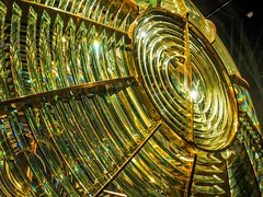 White Shoal Lighthouse Fresnel Lens (Great Lakes Shipwreck Museum) (Selector Jonathon Photography) Tags: lighthouse michigan lakesuperior whitefishpoint fresnellens whitefishpointlightstation greatlakesshipwreckmuseum whiteshoallighthouse whiteshoallighthousefresnellens