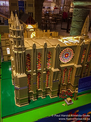 Lego replica of Durham Cathedral