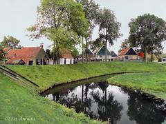 Reflection (♥ Annieta  off/on) Tags: oktober holland netherlands dutch museum canon nederland powershot enkhuizen allrightsreserved ijsselmeer zuiderzeemuseum 2015 oudhollands annieta sx30is usingthisimagewithoutmypermissionisillegal