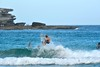 Bondi surf (jeremyhughes) Tags: outdoor sport surf surfing surfer surfboard bondi beach bondibeach nsw sea ocean seaside water man action nikon d750 nikkor wave waves 300mm afsnikkor300mmf4difed telephoto sports sunshine