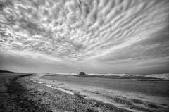 Weko Beach (mswan777) Tags: lake michigan ice cloud scenic winter cold nikon d5100 sigma 1020mm intake bridgman ansel shore beach