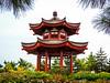 Big Wild Goose Pagoda-5686 (kasiahalka (Kasia Halka)) Tags: unescoworldheritagesite giantwildgoosepagoda bigwildgoosepagoda buddhistpagoda tangdynasty 652 morningbell godofwealth xuanzang xian china