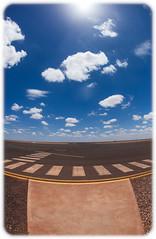 Prominent Hill Aerodrome (Craig Jewell Photography) Tags: adelaide aerodrome airport architecture australia building dusk fisheye greatvictoriadesert modern outback southaustralia sunset iso100 f56 ¹⁄₂₅₀₀sec canon canoneos5dmarkii ef15mmf28fisheye copyright2016craigjewell 29°4237s135°3138e 0ev aperturepriority 20161215143326mg9721cr2