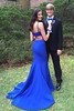 prom dresses (maweiyu) Tags: elegant bateau open back sweep train royal blue mermaid prom dress with beading