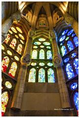 Gaudi Colors and Interiors (Mario Hernandez (on and off, mostly off)) Tags: sagradafamilia gaudi antoniogaudi colors barcelona spain nikon d90 nikond90 interiors art architechture nikkor1755