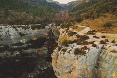 """Salt de Sallent. (¡arturii!) Tags: wow amazing awesome superb interesting stunning impressive nice beauty great arturii arturdebattk """"canonoes6d"""" gettyimages travel trip tour route viatge holidays vacations drone dron pov aerial flying cool visual waterfall cliff nature vertigo height people outdoor landscape natura osona garrotxa catalonia catalunya cataluña europe forest trees river creek drop jump fall view scenery"""
