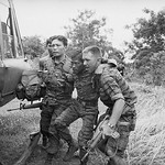 Song Be 1969 - Soldier Being Helped to Helicopter thumbnail