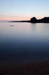 Desert beach near the lighthouse of Senetosa (Romain Vernoux) Tags: corsica corse water sea eau mer long exposure longexp longexposure exposition longue expositionlongue