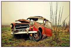 Desolation car (marc.lacampagne) Tags: voiture ancienne rouille rust ngc abandonée carcasse hdr épave