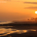 Mareggiata al tramonto