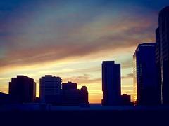 (Evap'Auré) Tags: sky downtown phoenix sunset