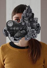 maskbook (alouata) Tags: maskbook climat pollution transition pointculture masque message militant futur cinéma imaginaire modèle capitalisme progrès biomimétisme mélies chaplin metropolis lang nature biodiversité ville santé diy récup bricolage art symbole