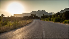 """Castle Sunset"", France (CvK Photography) Tags: canon castle city cityscape color cvk europe france holiday landscape lesbauxdeprovence nature outdoor provence roads summer sun sunset provencealpescôtedazur frankrijk fr"