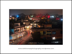 Pokhara - Lightning and Street Lights (Two Dragons - @robthomasphoto) Tags: street city travel nepal people rain weather night lowlight asia documentary atmosphere social monsoon slowshutter nepalese lightning pokhara atmospheric concepts robthomasphotography ©robcolinthomas ©robthomasphotography robthomasphoto