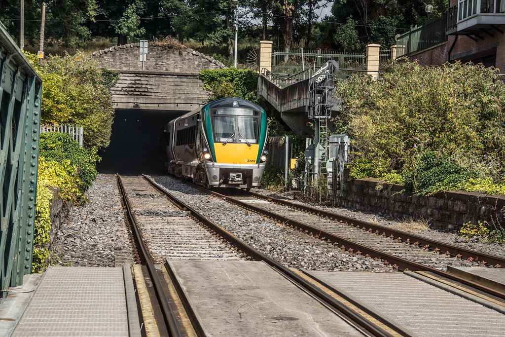 THE MINISTER PLUS PLATFORM 10 AND THE PHOENIX PARK RAILWAY TUNNEL [NOT FORGETTING IRISH RAIL STAFF] REF-107145