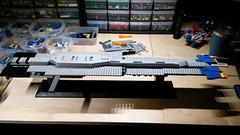 Hiigaran Battlecruiser WIP 3 (Rphilo004) Tags: ship lego space craft spaceship homeworld fleet battlecruiser hiigaran shiptember