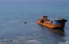 Abandoned ship (haddadzakaria) Tags: sea summer beach ship outdoor jijel