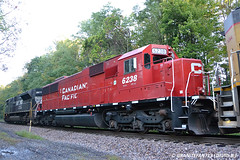 CP 6238 EMD SD60 (932) (Trucks, Buses, & Trains by granitefan713) Tags: train locomotive canadianpacific cp freighttrain emd sd60 lashup electromotive emdsd60 sunburysub cpsunburysub