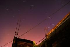 """Pidan sus deseos"" (yamircuevas) Tags: city blue light sky urban lightpainting rain night stars purple bluesky lighttrails pozarica skyporn rainstars starstax"