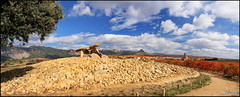 Chabola de la hechicera (Solasaga) Tags: otoo rioja dolmen vias txabola chabola solasaga hechicera