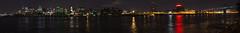 Panorama Montrealu z wyspy Świętej Heleny | Panorama of Montreal from Sainte-Hélène Island