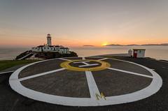 Fanad Helipad (Philip Blair's Photos) Tags: ocean ireland sea lighthouse sunrise landscape nikon head sigma atlantic ie 1020 donegal ulster fanad d7000 11015