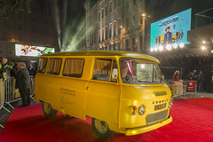 The Lady In The Van (aevo69) Tags: red london film yellow festival lady movie square stars carpet leicester premiere van odeon the