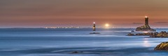 The end of the world II (Ronan Follic photographies) Tags: sea mer moon lighthouse lune canon eos ile bretagne breizh 7d moonlight phare bzh finistere pointeduraz iledesein eos7d