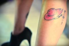 Digimon tattoo II (tatixtky) Tags: pink hat tattoo leg rosa mimi kanji sombrero hoshi digimon tachikawa hiragana tatuaje pierna