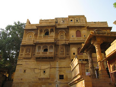 "Fort de Jaisalmer <a style=""margin-left:10px; font-size:0.8em;"" href=""http://www.flickr.com/photos/127723101@N04/22389453705/"" target=""_blank"">@flickr</a>"