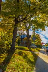 Sherbrooke style 3 (Woak974) Tags: life new city blue autumn trees red sky orange love nature yellow rouge or vert bleu ciel sherbrooke et swag octobre jeune 2015 swe octover sherby udes sweg