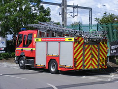 3901 - GMFRS - PO11 AVB - DSCF1600 (Call the Cops 999) Tags: uk england rescue water station asda manchester fire volvo community britain united great kingdom pump vehicles event gb vehicle and service fl greater ladder emergency 112 services gorton 999 jdc avb gmfrs po11