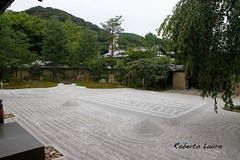 Un po' di tranquillit - Giardino Zen (Roberto Lauro) Tags: travel japan garden temple kyoto zen viaggi giappone zengarden giardini tempio giardinozen kdaiji