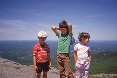 At the Summit (John M Poltrack) Tags: family technology unitedstates newhampshire places imaging mountmonadnock joshpoltrack joshuapoltrack mattpoltrack digitalicescanning emilyannpoltrack