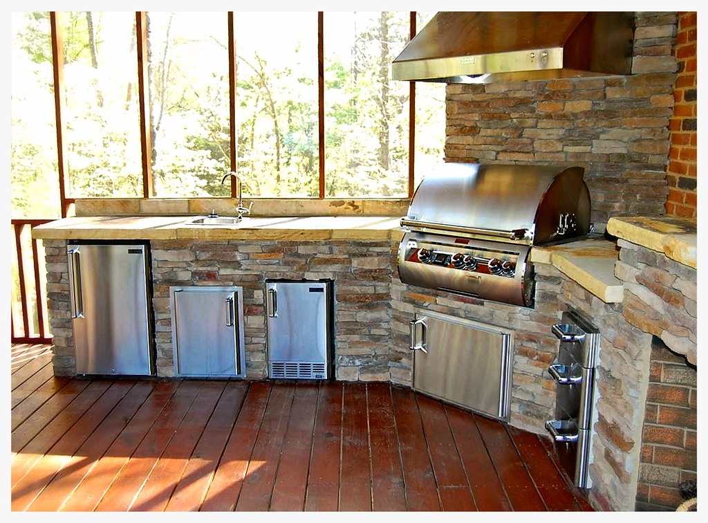 Custom Outdoor Kitchen. Ooltewah, Tn.