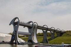 Falkirk wheel (WaterBugsPics) Tags: