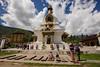 Chorten Zong. (tusherzahid) Tags: bhutan prayer thimphu zong chortan